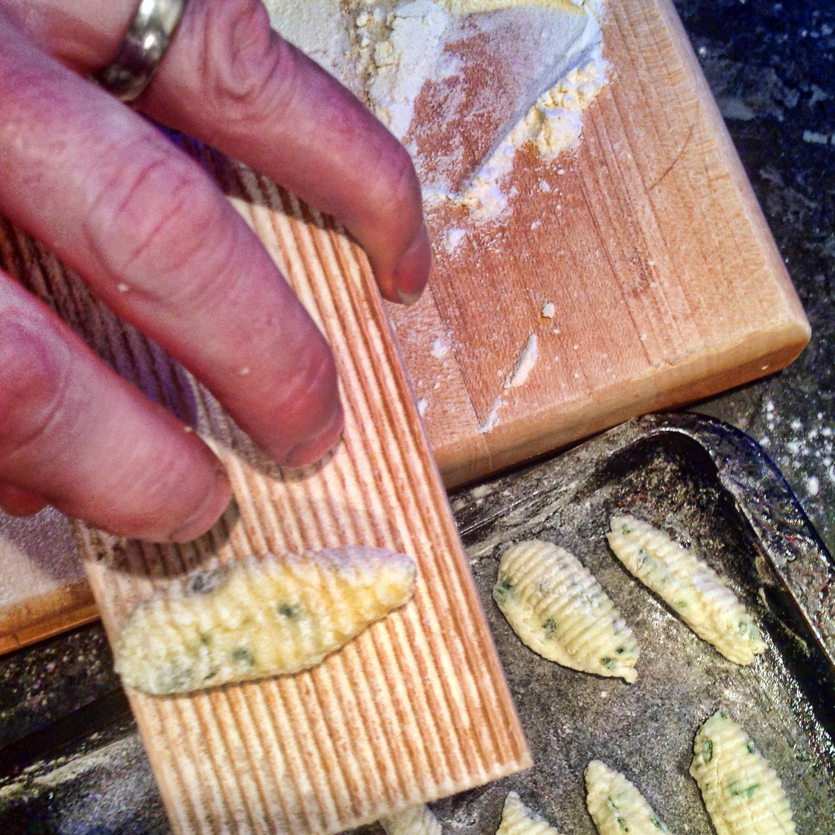 Ricotta And Chive Gnocchi Recipe — Dishmaps