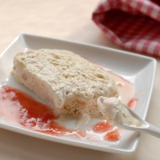 rosemary and pine nut semifreddo