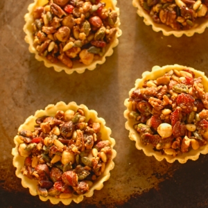 fruit and nut tartlets