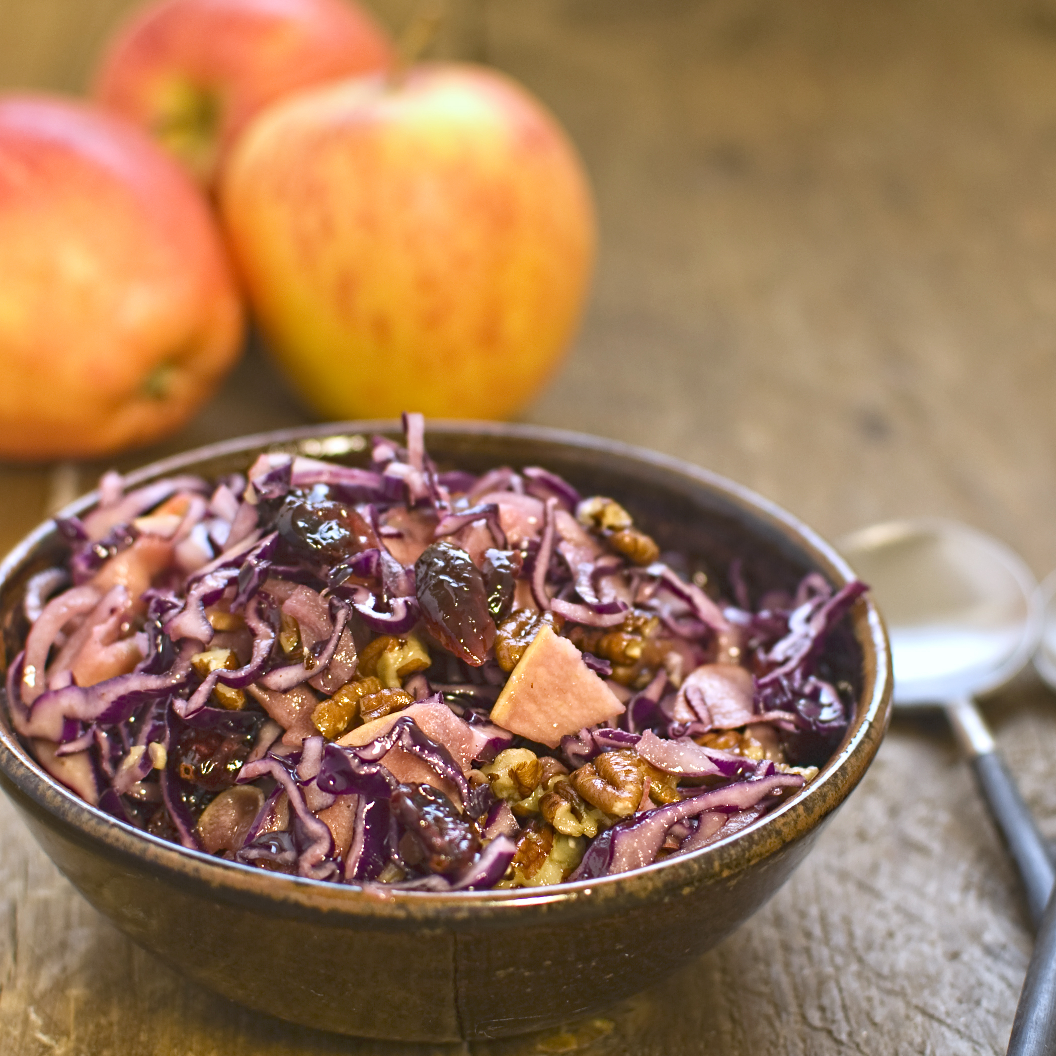 how to cook red cabbage and apple