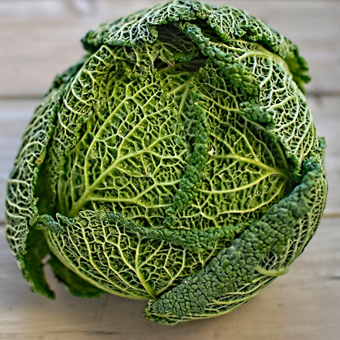 roast savoy cabbage with miso and sesame – The Circus