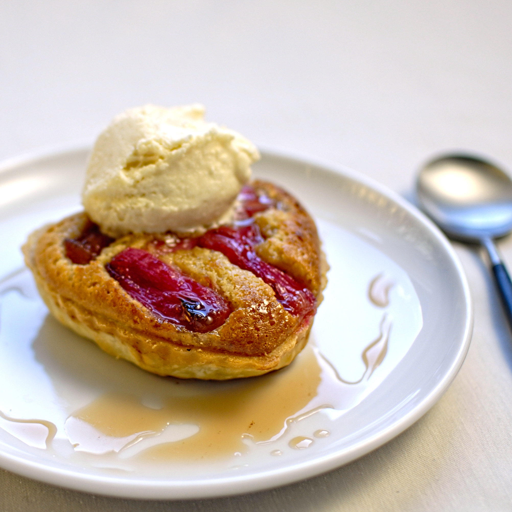 rhubarb tart with star anise ice cream – The Circus ...