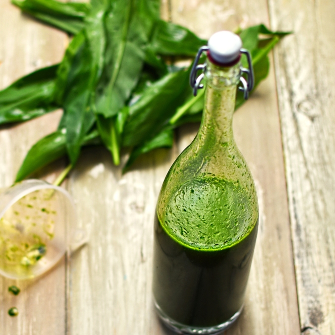 wild garlic oil
