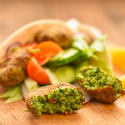broad bean and coriander falafel 3