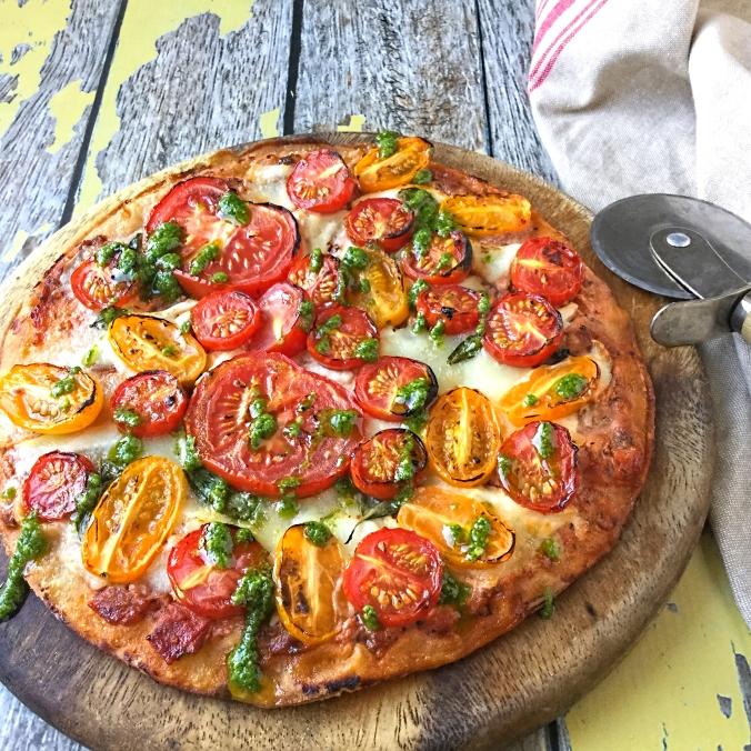 heritage tomato pizza