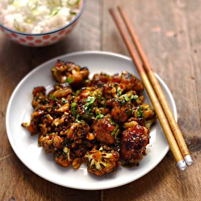 Kung Pao cauliflower