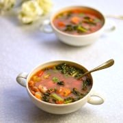 tuscan bean and vegetable soup