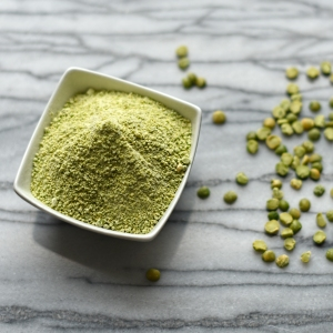 green split pea flour