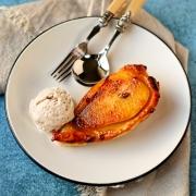 individual-pear-tatin-with-cinnamon-ice-cream