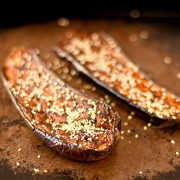 miso-and-sesame-glazed-aubergines