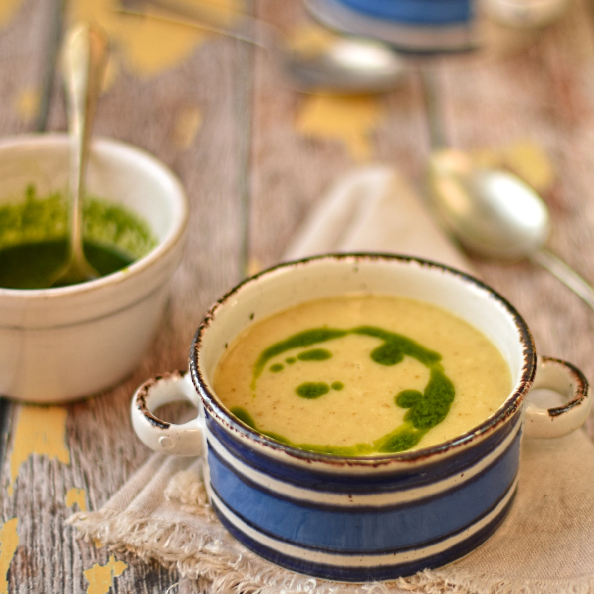 baked potato soup with chive oil – The Circus Gardener's ...